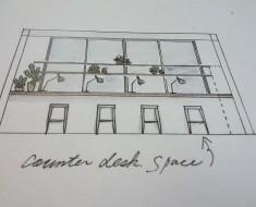集中席デザイン画